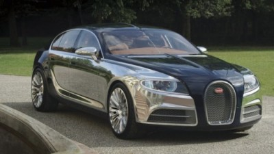 Bugatti Galibier 16C Concept May Preview Future High-Performance Luxo-Sedan: Video