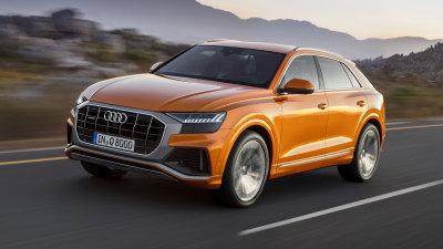 New Audi Q8 revealed