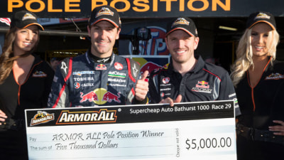 2013 Bathurst 1000: Whincup Puts Red Bull On Pole