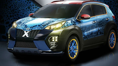 Kia Sportage X-Car Concept Previewed Ahead Of Local Arrival For New Model