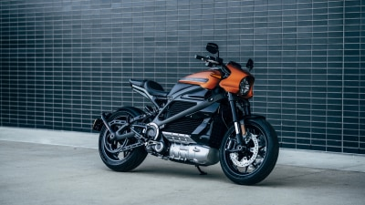 Electric motorcycles on the charge