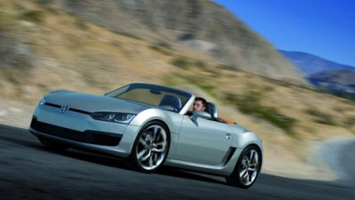 Volkswagen Bluesport Roadster On Hold Due To GFC