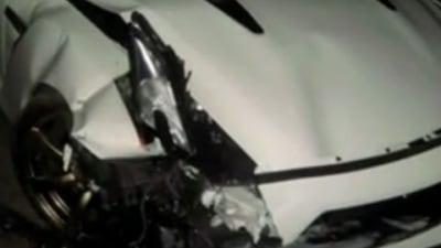 Video: Nissan 'R35' GT-R Crashes Behind Evo IX MR