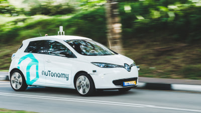 Self-Driving Taxi Trial Begins In Singapore