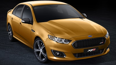 New Falcon XR8 On Display In Melbourne, October, 'Outside The Oval' Exhibition