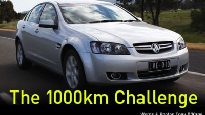 2010 Commodore Berlina 3.0 SIDI Road Test Review - The 1000km Challenge