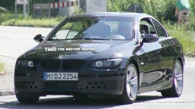 2010 BMW 3 Series Convertible Update Spied