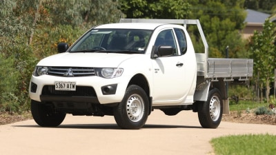 2011 Mitsubishi Triton Club Cab Review