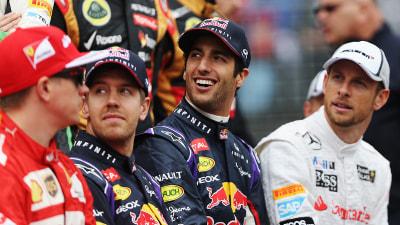 F1: Vettel Renews Attack On 'New' F1, Ricciardo Wants Fair Fight
