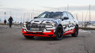 Audi e-tron prototype unveiled