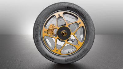 Continental Re-Thinks The Disc Brake To Better Suit EV Applications