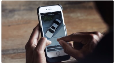 BMW Teases Next 5 Series Remote 3D View Technology