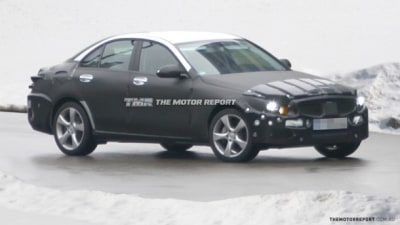 2014 Mercedes-Benz C-Class Spotted Testing