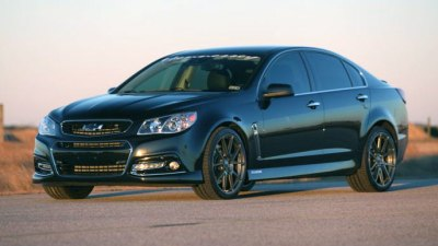 Hennessey Announces Pumped-up HPE1000 Version Of Chevrolet SS Sedan
