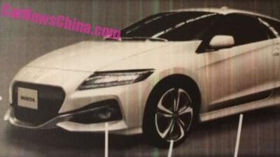 Facelifted Honda CR-Z Images Leak Out