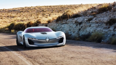 Renault's Trezor An Electric Car Fantasy