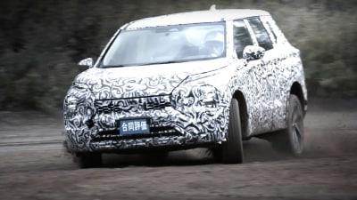 2022 Mitsubishi Outlander leaked and teased – Off-road teaser released
