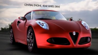 Alfa Romeo 4C Teased In New Promotional Video