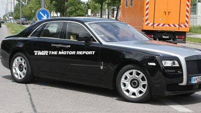 2010 Rolls Royce Ghost Captured In Production Form: Spy Shots