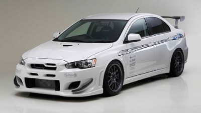 ings Release N-Spec Aero Kit For Mitsubishi Evo X