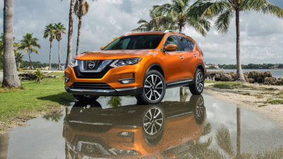 2017 Nissan X-Trail Update Previewed in North American Rogue