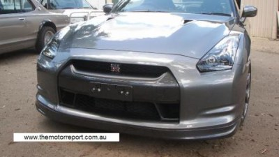 Australia's first road registered R35 GT-R?