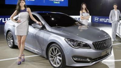 Hyundai AG 'Premium Large Sedan' Revealed For Korean Market