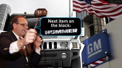 Confirmed: Hummer Up For Sale