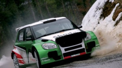Skoda Fabia S2000 Rally Car Makes Promising Start At Monte Carlo Rally