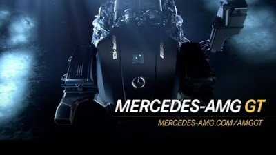Mercedes AMG GT's Brand-New 375kW Turbo V8 Revealed