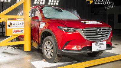 2017 Mazda CX-9 Scores 5-star ANCAP Crash Safety Rating