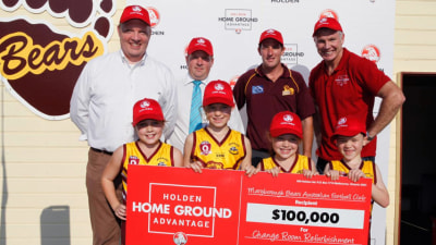 Holden's Home Ground Advantage Finds First Winners In QLD