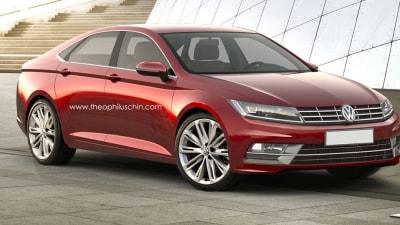 2016 Volkswagen CC Rendered