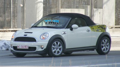 2012 MINI Roadster Spied On The Road