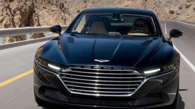 Aston Martin Lagonda Debuts At Last