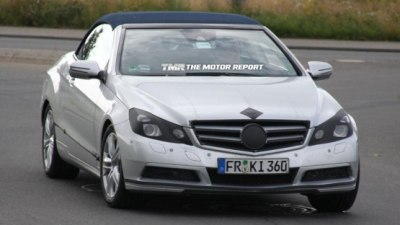 2011 Mercedes-Benz E-Class Cabrio Spied Testing
