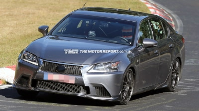 2015 Lexus GS F Spied Testing