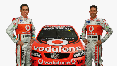 V8SC: TeamVodafone, HRT Reveal 2012 Liveries