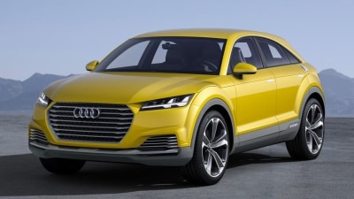 Audi TT Offroad Concept Revealed At Beijing