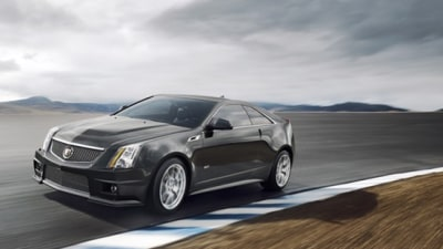 2011 Cadillac CTS-V Coupe Revealed Ahead Of Detroit Auto Show