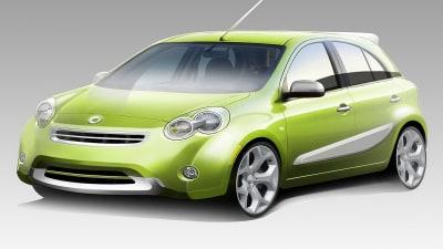 Smart Previews New Nissan Micra-Based Light Car