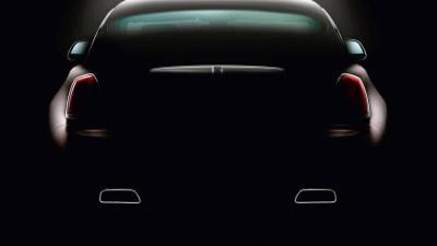 Rolls-Royce Wraith Teased Further