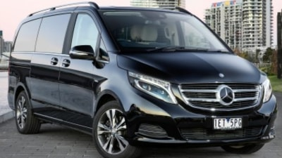 Mercedes-Benz V250d v Volkswagen Multivan Executive head-to-head comparison