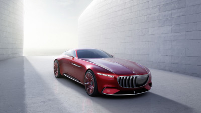 Vision Mercedes-Maybach 6 Coupe Leaked Online