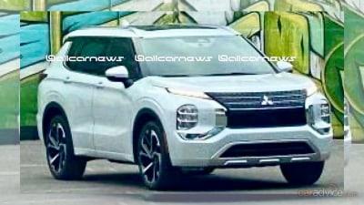 2022 Mitsubishi Outlander: First images leak online