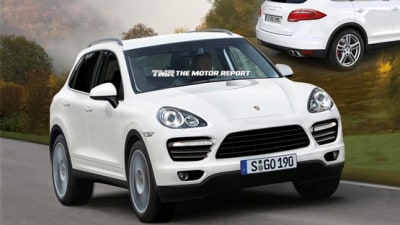 2011 Porsche Cayenne Spied Testing; Previewed In New Renderings