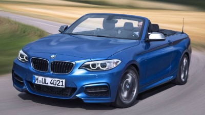 BMW 2 Series Convertible Revealed, In Australia From Early 2015