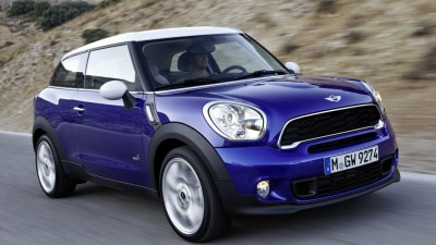 MINI Paceman Petrol Pair Locked In For Australia, JCW Model Planned