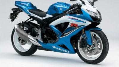 2009 Suzuki GSX-R600 Arrives With Three New Colours