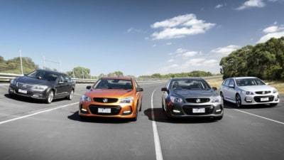 Aussie-made Holden Commodores running out